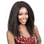 Motown Tress 100% Brazilian Virgin Remi Human Hair Deep Part Wig - Hbr Dp Ken