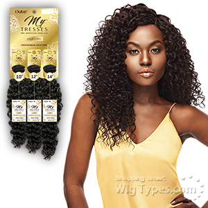 Outre Mytresses 100% Unprocessed Human Hair Weave - BOHO DEEP 3PCS