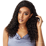 Outre Mytresses Black Label 100% Unprocessed Human Hair 13x4 HD Lace Frontal Wig - NATURAL DEEP