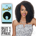 Zury Sis Naturali Star Sew In 100% Human Hair Weave - 4A COILY (Buy 1 Get 1 FREE)