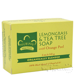 Nubian Heritage Lemongrass & Tea Tree Soap 5oz
