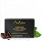 Shea Moisture African Black Soap Bar 3.5oz