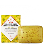 Nubian Heritage Indian Hemp & Haitian Vetiver Bar Soap 5oz