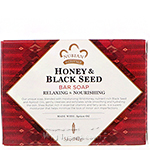 Nubian Honey & Black Seed Soap 5oz
