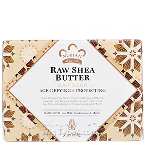 Nubian Raw Shea Butter Soap 5oz