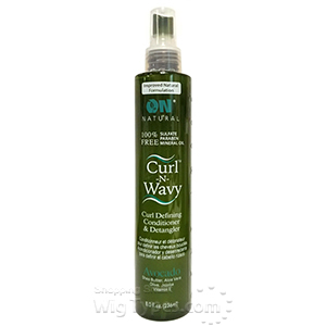 On Natural Curl-N-Wavy Jamaican Curl Defining Conditioner & Detangler Avocado 8oz