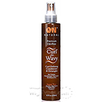 On Natural Curl-N-Wavy Jamaican Curl Defining Conditioner & Detangler Argan Tree 8oz