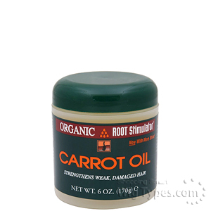 Organic Root Stimulator Carrot Oil - 6 Oz