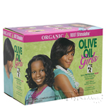 Organic Root Stimulator Olive Oil Girls No-Lye Conditioning Relaxer Kit