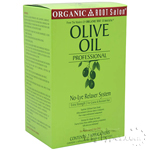 Organic Root Stimulator Olive Oil No-Lye Relaxer Extra Strength Dual Kit