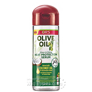 ORS Olive Oil Silken & Shine Heat Protection Serum 6 oz