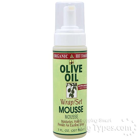 Organic Root Stimulator Olive Oil Wrap Amp Set Mousse 7 Oz