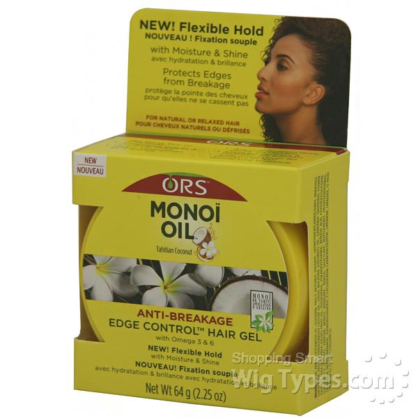 Ors Monoi Oil Anti Breakage Edge Control Hair Gel 2 25oz
