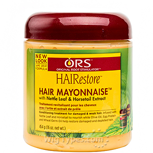 ORS HAIRestore Hair Mayonnaise with Nettle Leaf and Horsetail Extract 16 Oz