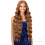 Organique Synthetic Hair 5 Inch Lace Front Wig - HALO WAVE 32