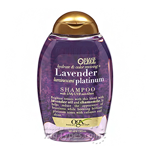 OGX Hydrate & Tone Reviving + Lavender Luminescent Platinum Shampoo 13oz