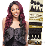 Outre Batik Duo Bundle Synthetic Weave - BRAZILIAN BUNDLE HAIR 5PC (18/20/20/22 + Parting Piece)