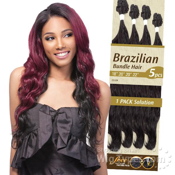 Outre Batik Duo Bundle Synthetic Weave Brazilian Bundle Hair 5pc