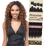 Outre Batik Duo Bundle Synthetic Weave - PERUVIAN BUNDLE HAIR 5PC (16/18/18/20 + Parting Piece)