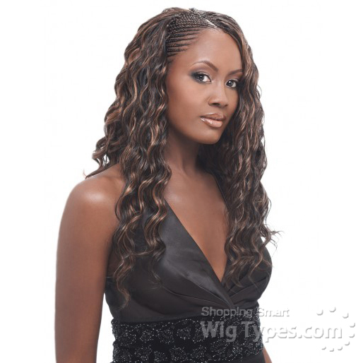Crochet Hair Loose Deep : Pics Of Tree Braids With Water Wave Hair LONG HAIRSTYLES
