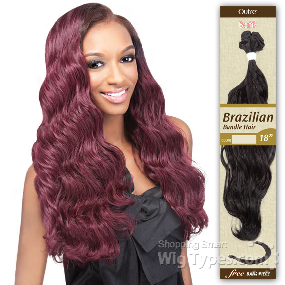 Outre Batik Bundle Synthetic Weave Brazilian Bundle Hair