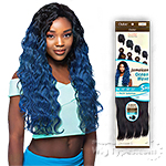 Outre Batik Duo Bundle Synthetic Weave - JAMAICAN OCEAN WAVE 5PCS (16/18/20/22 + Parting Piece)