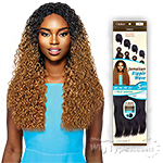 Outre Batik Duo Bundle Synthetic Weave - JAMAICAN RIPPLE WAVE 5PCS (16/18/20/22 + Parting Piece)