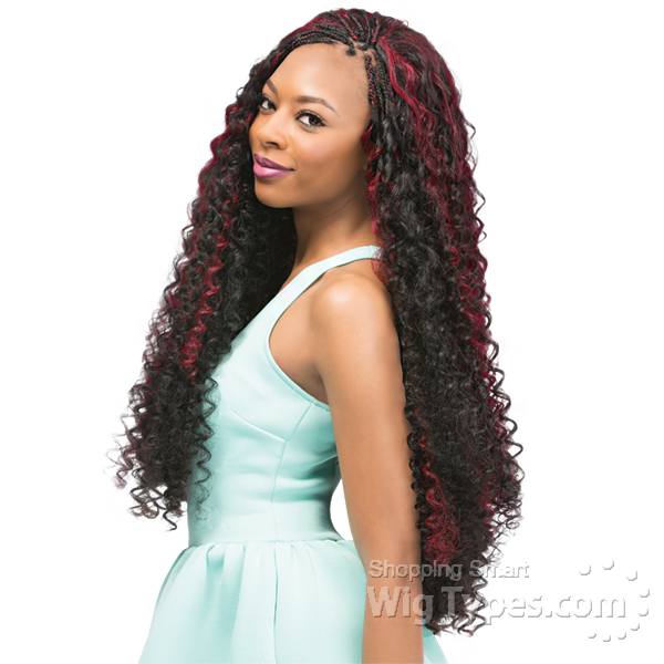 Outre Synthetic Braid X Pression Bohemian Curl 24 Wigtypes
