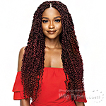 Outre Synthetic Braid - X PRESSION TWISTED UP BOHO PASSION WATER WAVE 24