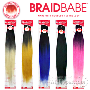 Outre Synthetic Pre Stretched Braid - BABE 54