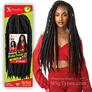 Outre Synthetic Braid - NATURAL KINKY TWIST 18