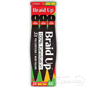 Outre Braid Up 3X PRE STRETCHED BRAID 46
