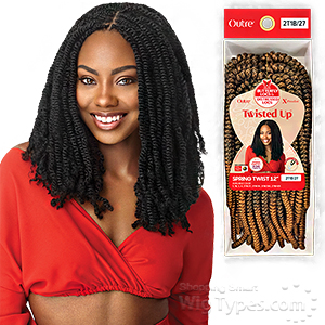 Outre Synthetic Braid - X PRESSION TWISTED UP SPRING TWIST 12