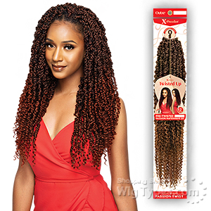 Outre Synthetic Braid - X PRESSION TWISTED UP PASSION WATER WAVE 20