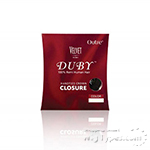 Outre 100% Remy Human Hair Top Piece - VELVET DUBY CLOSURE