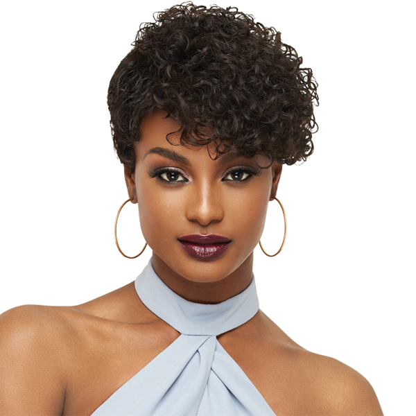 Outre 100% Human Hair Premium Duby Clipper Cut Wig - FINGER ROLL
