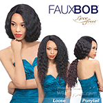 Outre Synthetic L-Parting Faux Bob Lace Front Wig - TAMMY (futura)