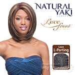 Outre Synthetic L-Part Lace Front Wig - Natural YAKI 12 (futura)
