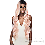 Outre Synthetic I-Part Swiss Lace Front Wig - KELIA 32 (futura)