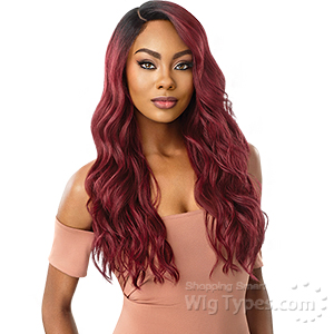 Outre Synthetic L-Part Swiss Lace Front Wig - RAQUEL