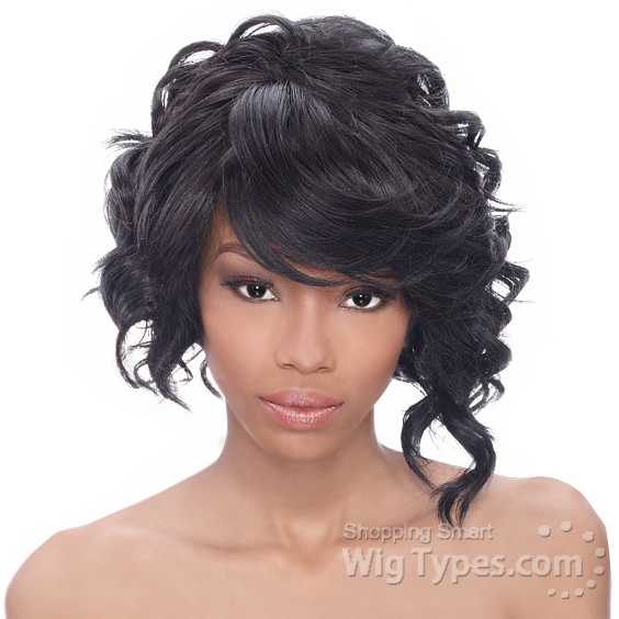 Outre Synthetic Lace Front Wig Shorty Futura