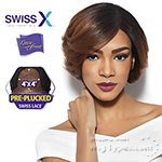 Outre Synthetic Swiss X Lace Front Wig -  ANIKA (4X4 Pre-Plucked Swiss Lace Part)