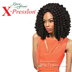 Outre Synthetic Lace Front Wig - X Pression Cuevana Twist Out Bob