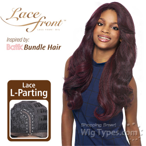 Outre Synthetic L Part Lace Front Wig - BATIK- DOMINICAN BLOW OUT RELAXED BUNDLE HAIR (futura)