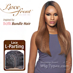 Outre Synthetic L Part Lace Front Wig - BATIK- DOMINICAN BLOW OUT STRAIGHT BUNDLE HAIR (futura)