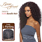 Outre Synthetic L Part Lace Front Wig - BATIK- DOMINICAN CURLY BUNDLE HAIR (futura)