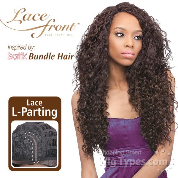 Outre Synthetic L Part Lace Front Wig Batik Peruvian Bundle Hair Futura