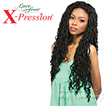 Outre Synthetic Lace Front Wig - X Pression Long Locs