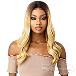 Outre Synthetic I-Part Swiss Lace Front Wig - LYSETTE