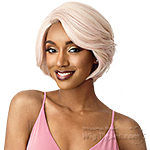 Outre Synthetic L-Part Swiss Lace Front Wig - MERCY